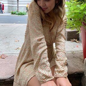 Brandy Meville Wrap Dress